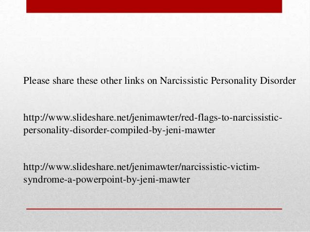 Moving on from Narcissistic Abuse due to Narcissistic Personality Dis…