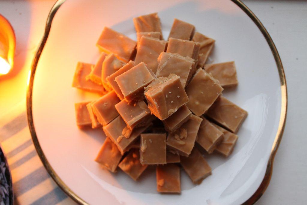 Cashew Cardamom Milk Toffee Milk Toffee Sweet Meat Toffee