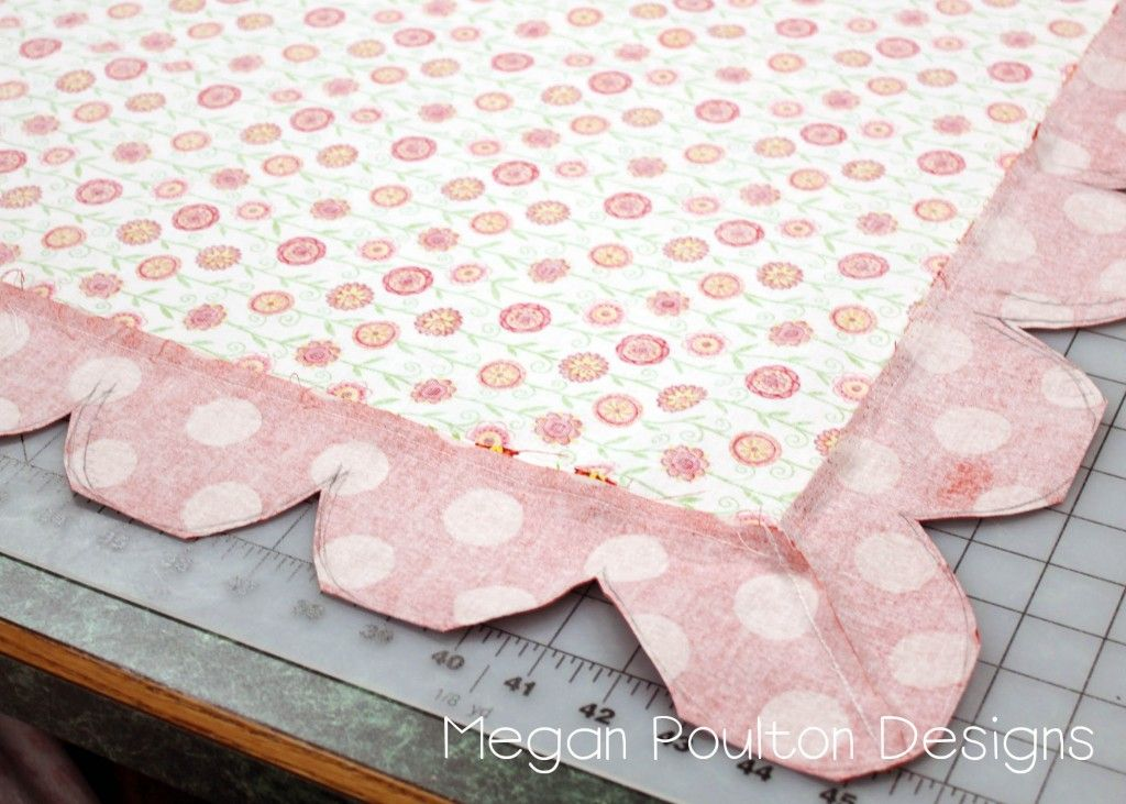Tutorial for a quilt with a self binding. Really neat. | Quilt ...