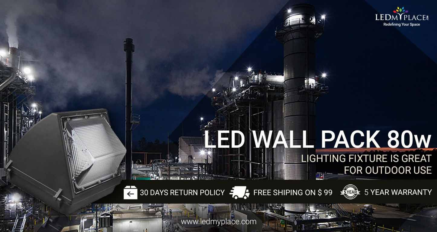 80w Led Wall Pack Light With Photocell Sensor 10 173 Lumens 5700k Bronze Finish Forward Throw Wall Packs Wall Pack Lights Outdoor Light Fixtures
