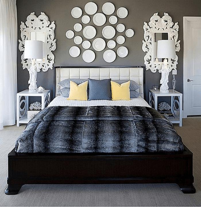 Schlafzimmer einfach dekorieren | Schlafzimmer Deko Ideen ...