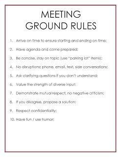 meeting rules