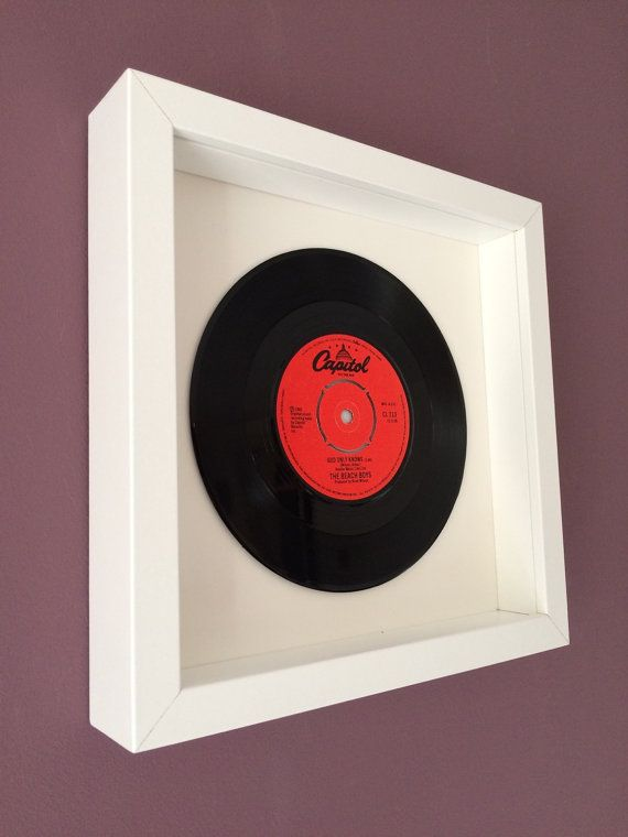 Framed Vinyl Record The Beach Boys Quot God Only Knows Quot Vinyl Gifts Vinyl Records Frame