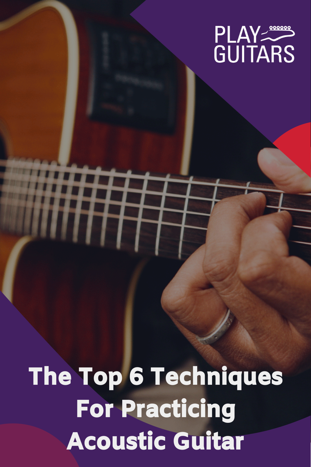 Techniques For Practicing Acoustic Guitar Learn Acoustic Guitar Acoustic Guitar Lessons Acoustic Guitar