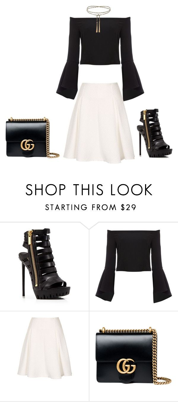 """""""Angel"""" by carlafashion-246 ❤ liked on Polyvore featuring Rachel Zoe, Bardot and Gucci"""