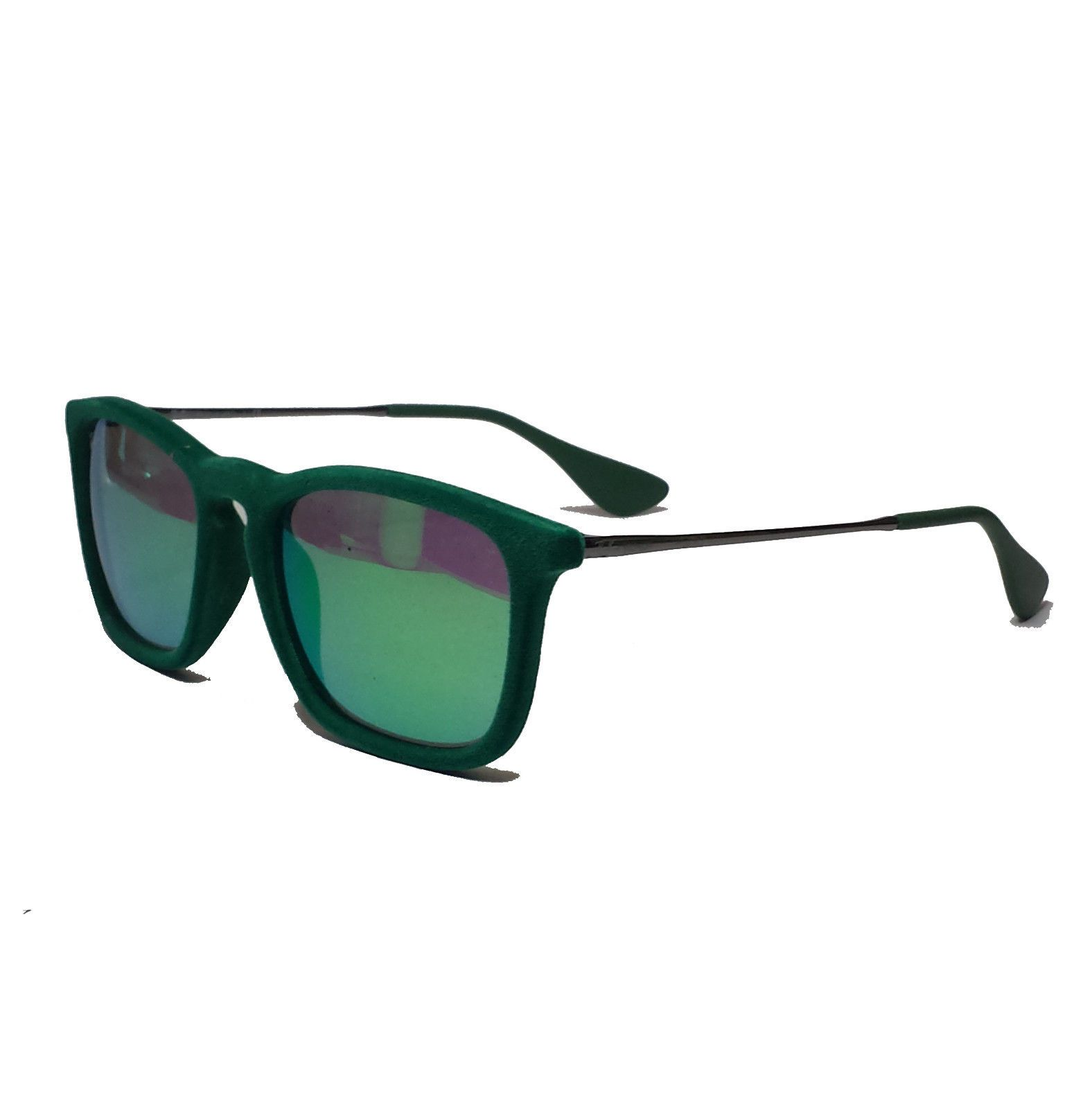8e55fd143b2  accessory luxury success impress Ray-Ban RB 4187 CHRIS Gunmetal GREEN  sunglasses Made in