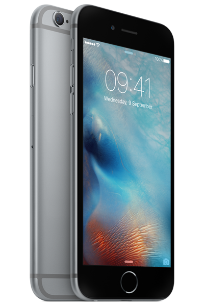 Side View Of The Space Grey Iphone 6s Compare The Cheapest Deals Today At Phonesltd Co Uk Apple Iphone 6s Plus Iphone 6s Space Grey Apple Iphone 6s