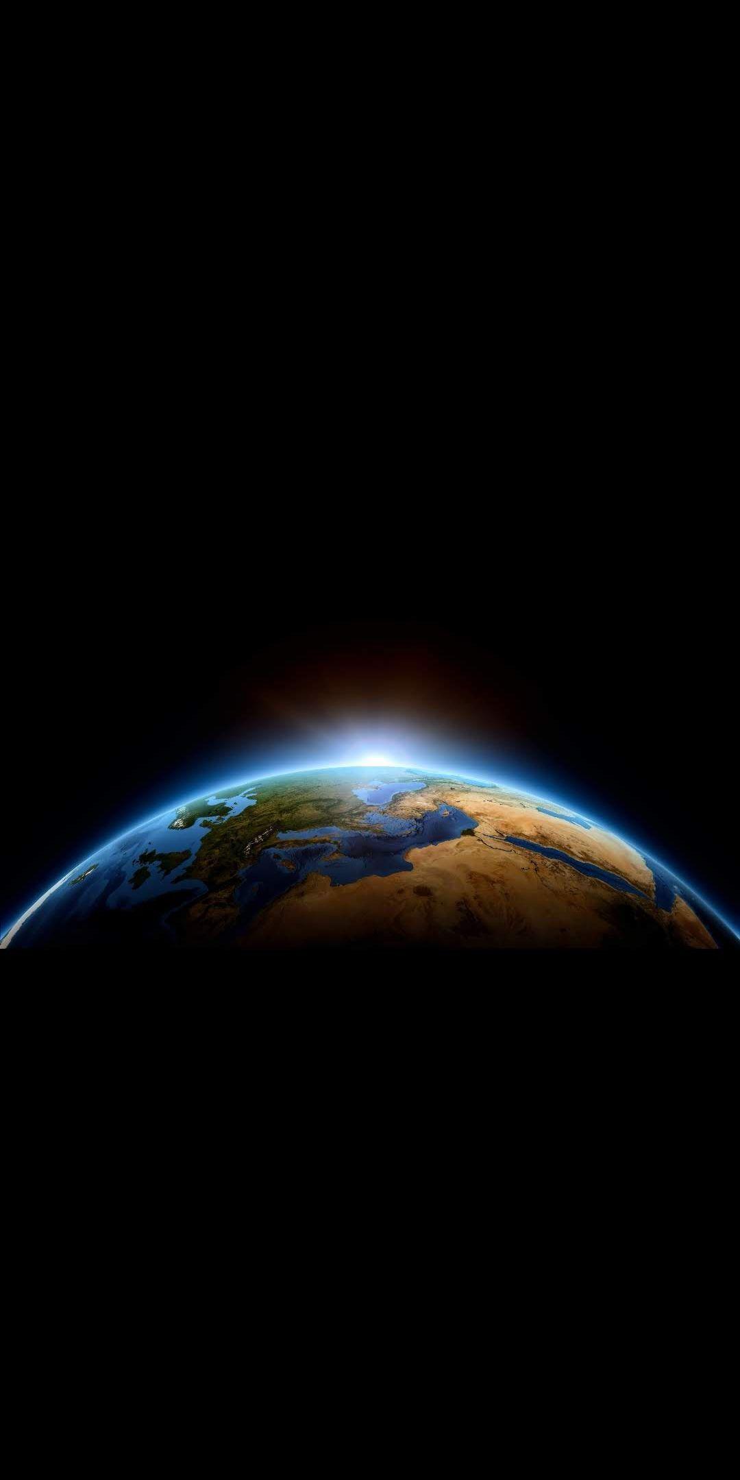 Earth Sun Rise iPhone Wallpaper #iphonewallpaper #iphone # ...