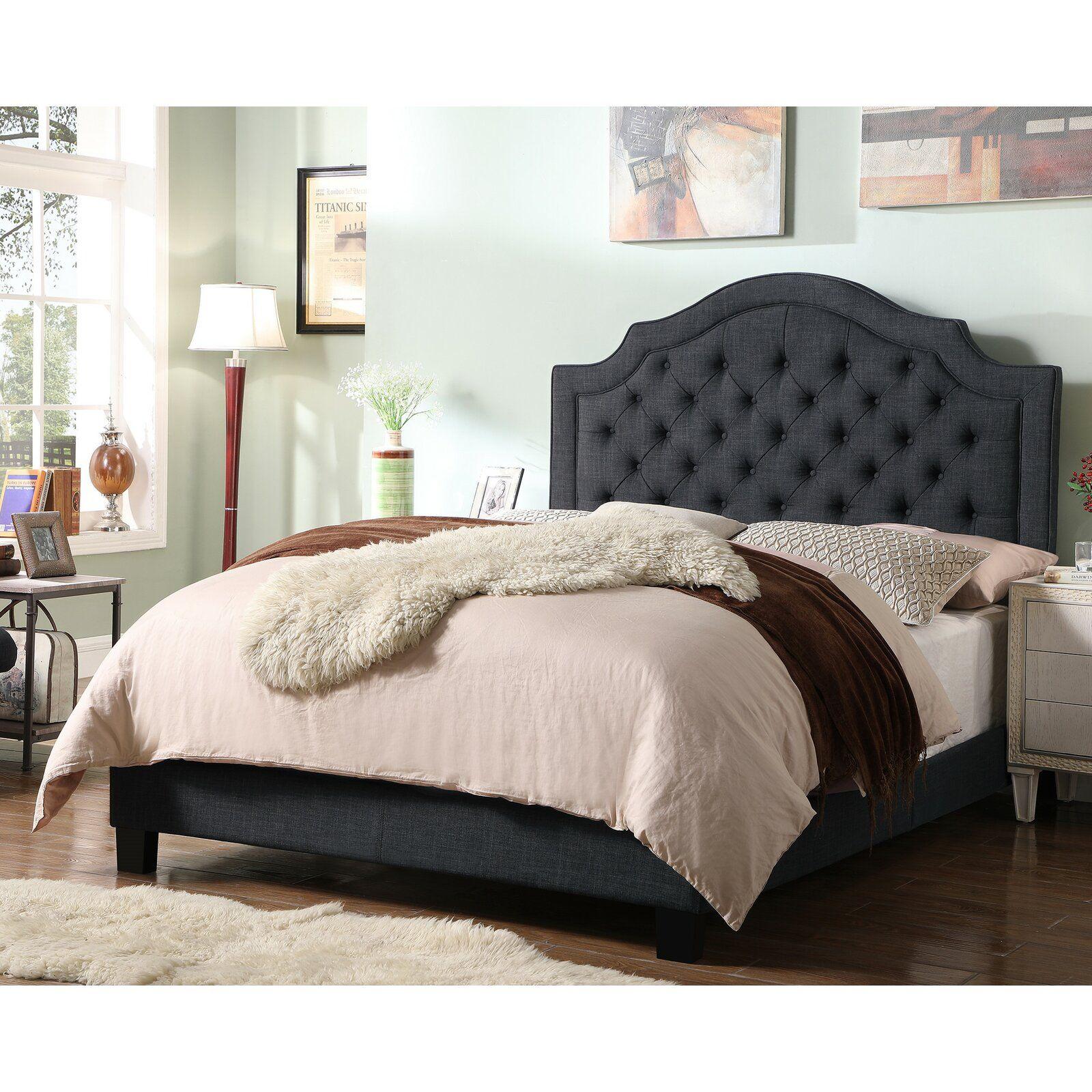 Swanley Upholstered Standard Bed Upholstered Bed Frame