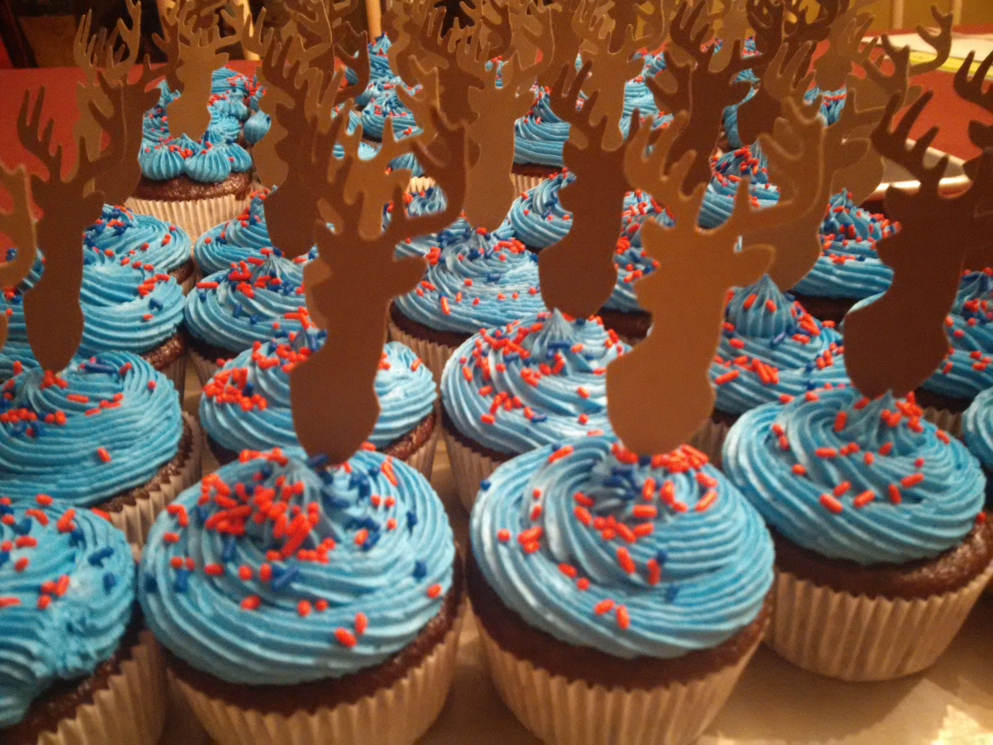 Dematha Stag Cupcakes For The Varsity Rugby Team Senior Day Game