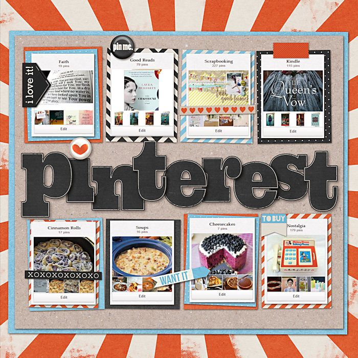 Pin By Scrapbook Store On Favorite Scrapbooking Layouts