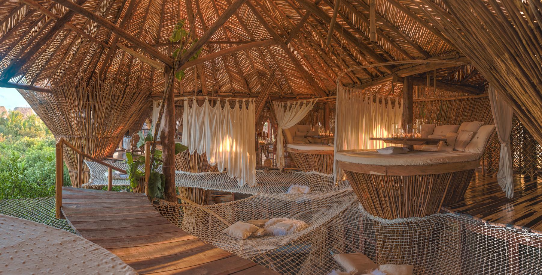 Kin Toh Tulum Treehouse Restaurant High End Luxury