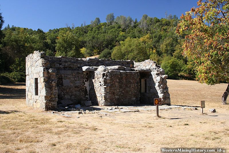 El Dorado County Jails Colomas first jail was made of logs and was