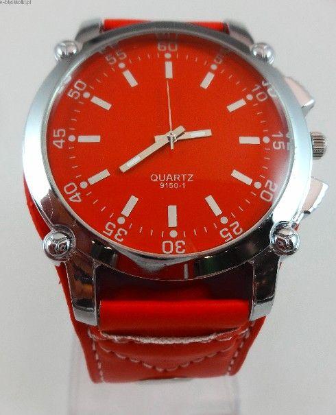 Zegarek Styl Retro Czerwony Quartz Rolex Watches Accessories