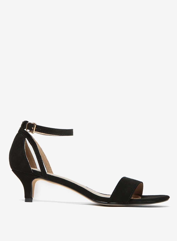 8c488b73c10d Black  Sunrise  Kitten Heeled Sandals