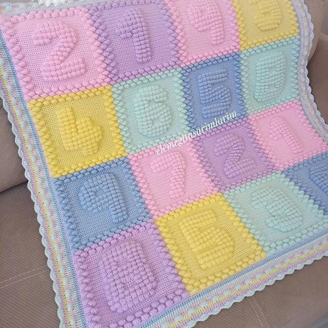 The best 15 knit baby blankets of the week   Knitted baby ...
