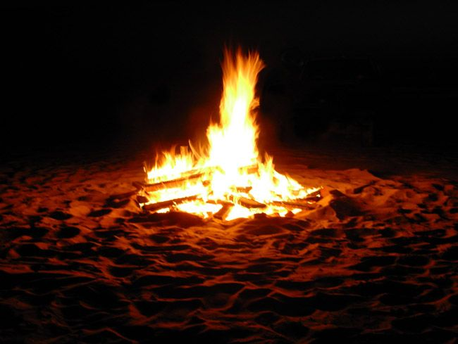 Beach Bonfire Embers Still Ling In Flagler As 2