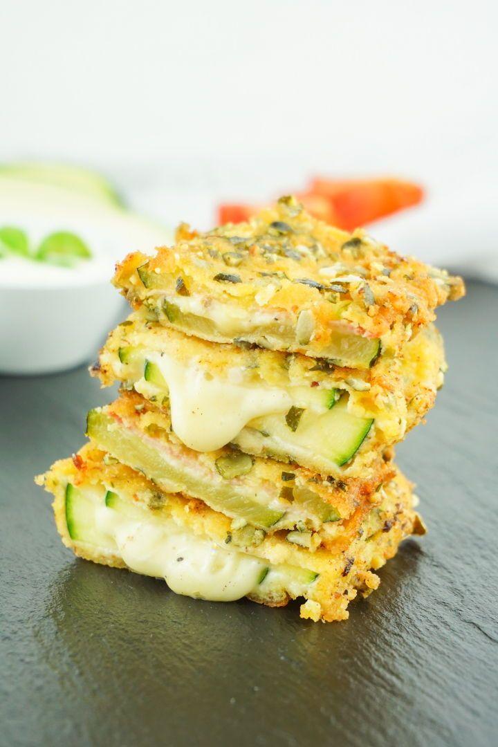 Cordon Bleu di zucchine – Ricetta vegetariana o classica a basso contenuto di carboidrati