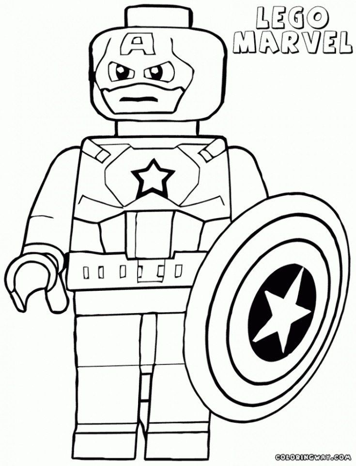 Lego Superhero Coloring Pages Get This Lego Marvel Coloring Pages 73baj Superhero Coloring Avengers Coloring Captain America Coloring Pages