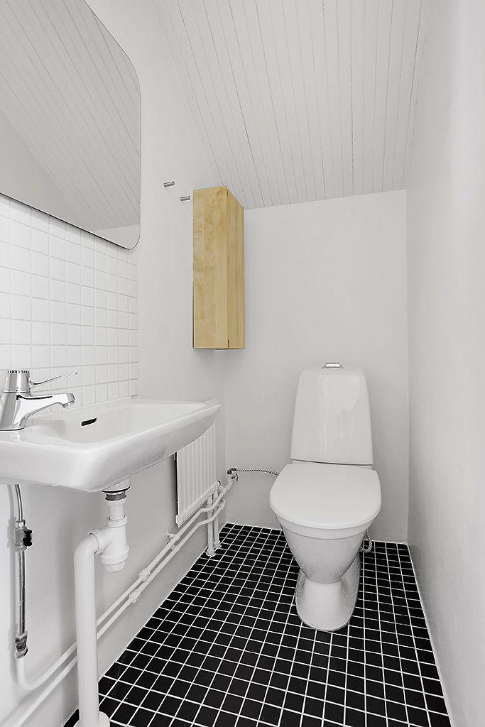WC, nedre plan
