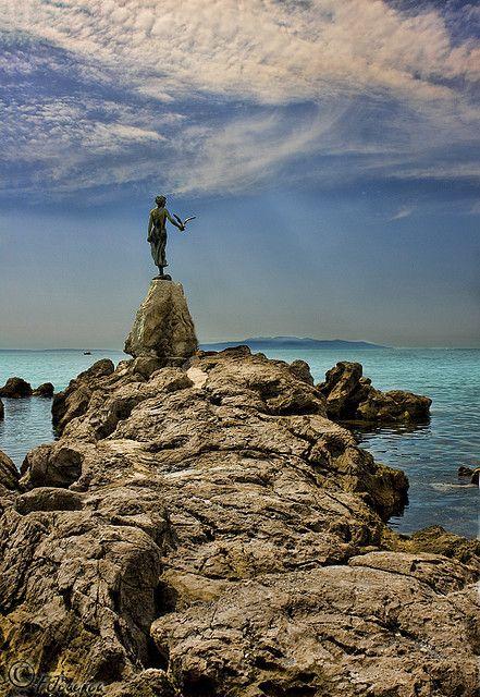 La Doncella De Opatija Croatia Vacation Croatia Travel Croatia Beach