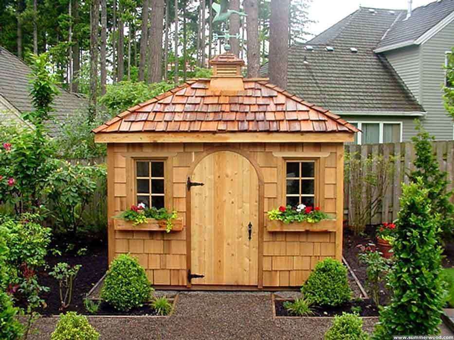 Ordinaire Useful Garden Sheds : Patio Design Ideas