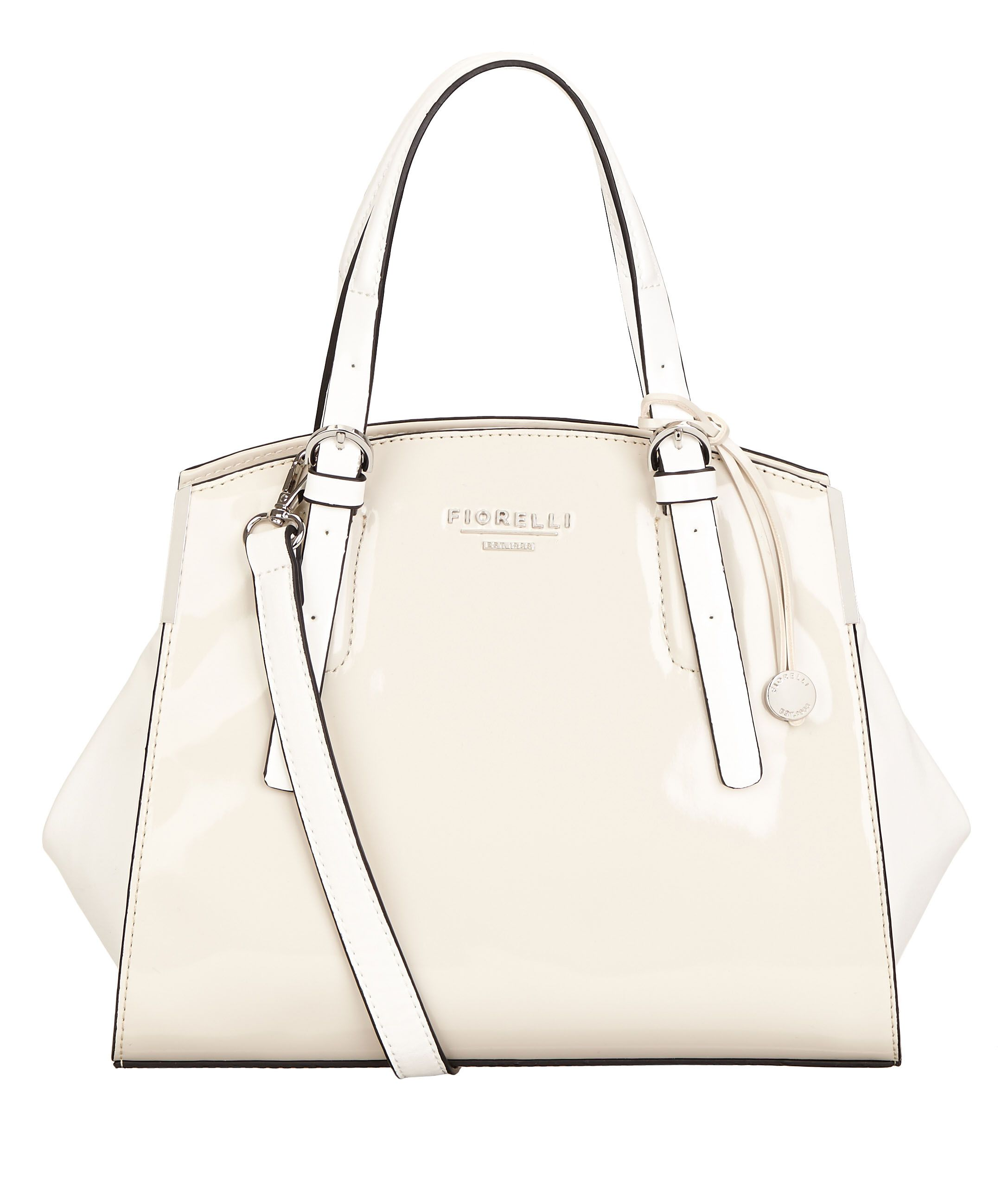 Fiorelli Bella Rose Handbag Soft White