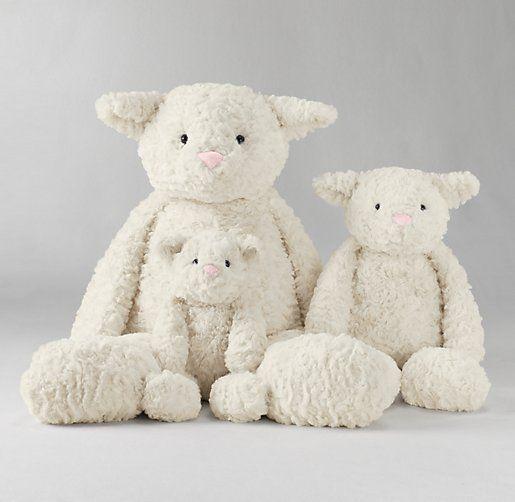 Textured Plush Lamb Plush Gifts Restoration Hardware