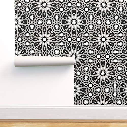 Boho Style Wallpaper Removable Wallpaper Boho Wall Sticker Etsy Boho Style Wallpaper Wall Decals Triangles Boho Interior Design