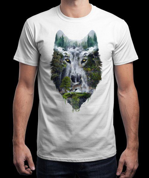 """""""Wolves"""" is today's £9/€11/$12 tee for 24 hours only on Pin this for a… 