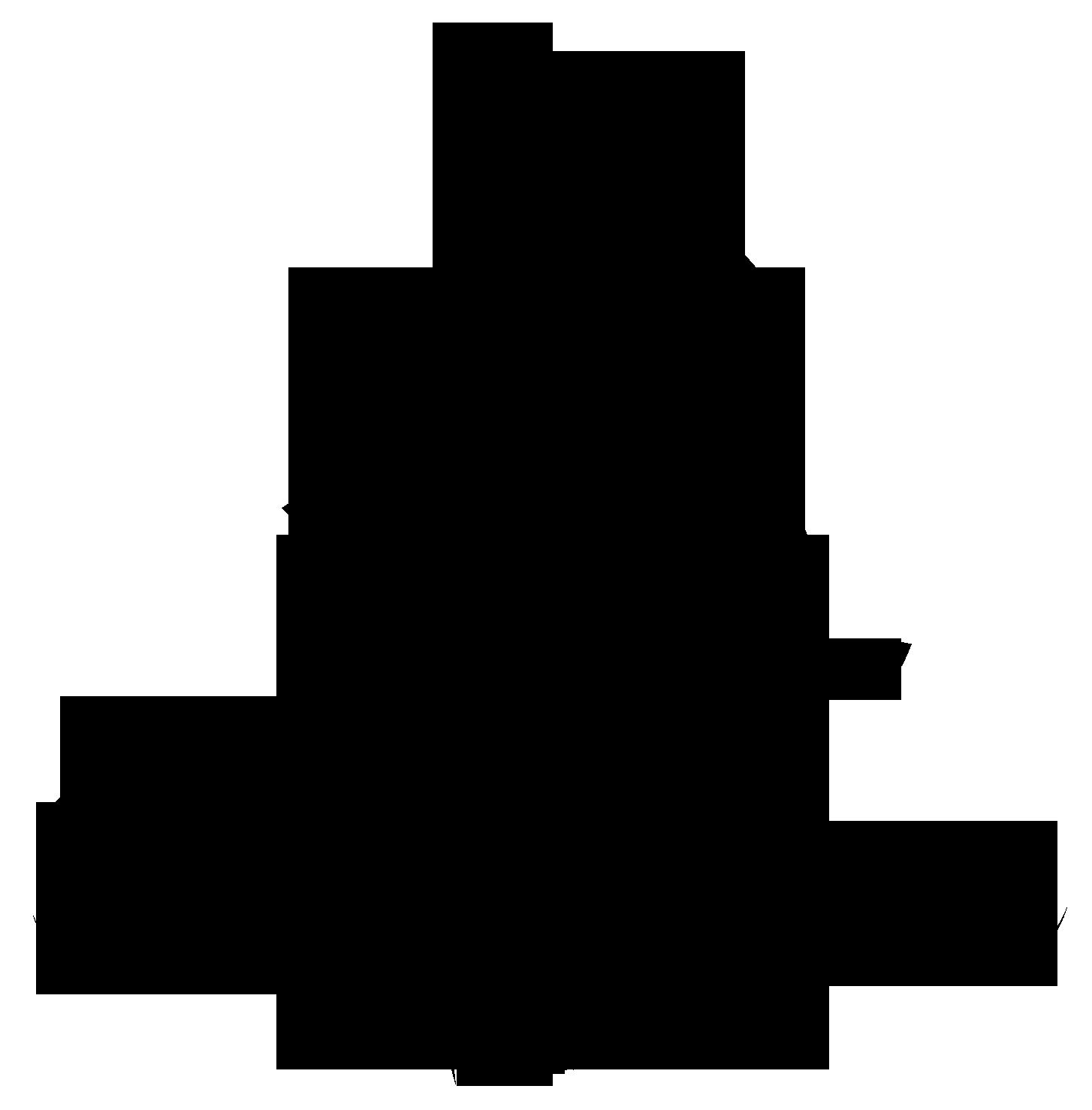 Flower Silhouette Transparent Image