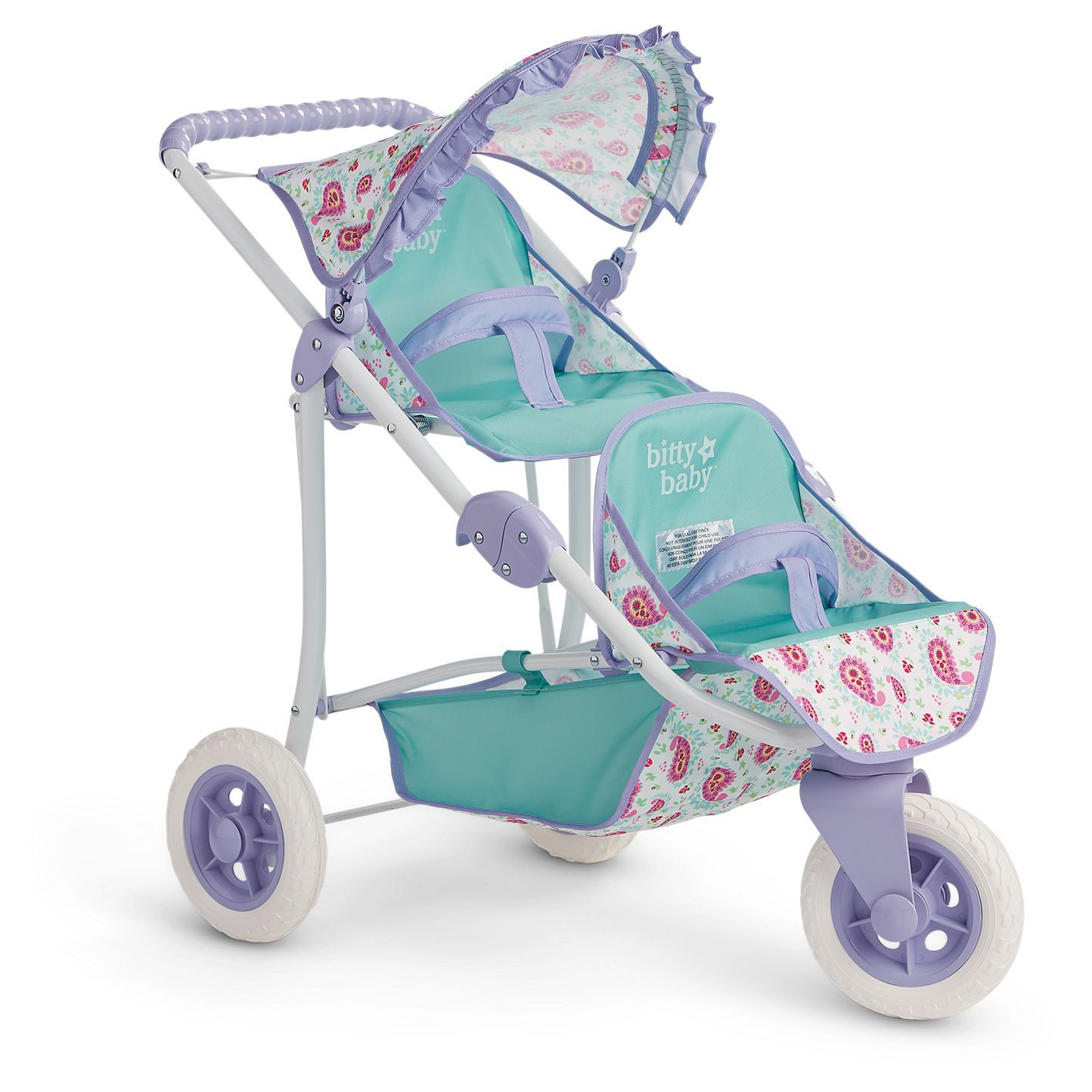 Bitty's Double Stroller Baby doll strollers, Bitty baby