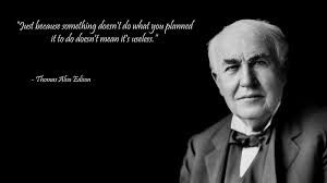 Image result for thomas edison quotes