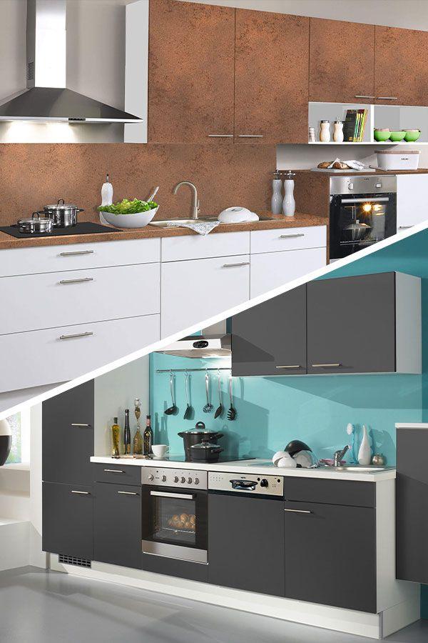 Unsere BasicKüchen haben alles, was du zum Kochen