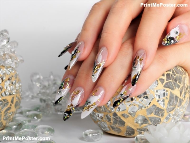 Studio nail art. poster | Art posters and Salons