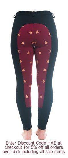 These are my favorite breeches from buckwild! Cute little silicon foxes keep you...
