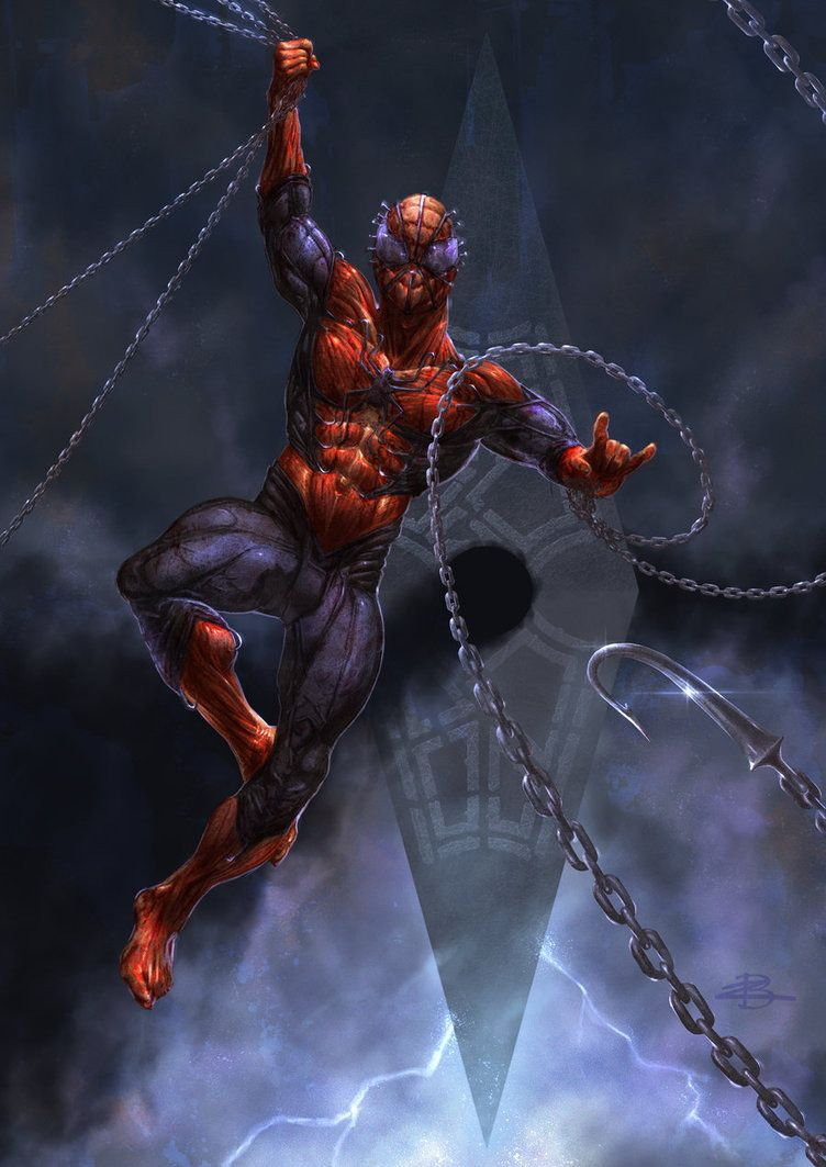 #Spiderman #Fan #Art. (The Amazing Spiderman Cenobite!) By: Kid-Eternity. (THE * 5 * STÅR * ÅWARD * OF: * AW YEAH, IT'S MAJOR ÅWESOMENESS!!!™)[THANK Ü 4 PINNING<·><]<©>ÅÅÅ+(OB4E)