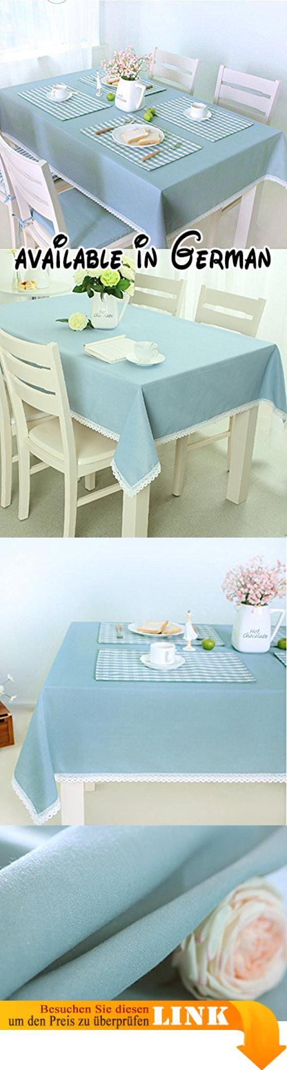 B0785G9K2Q : Küchenwäsche Tischdecke Rectangle Ländlich Solid Color ...