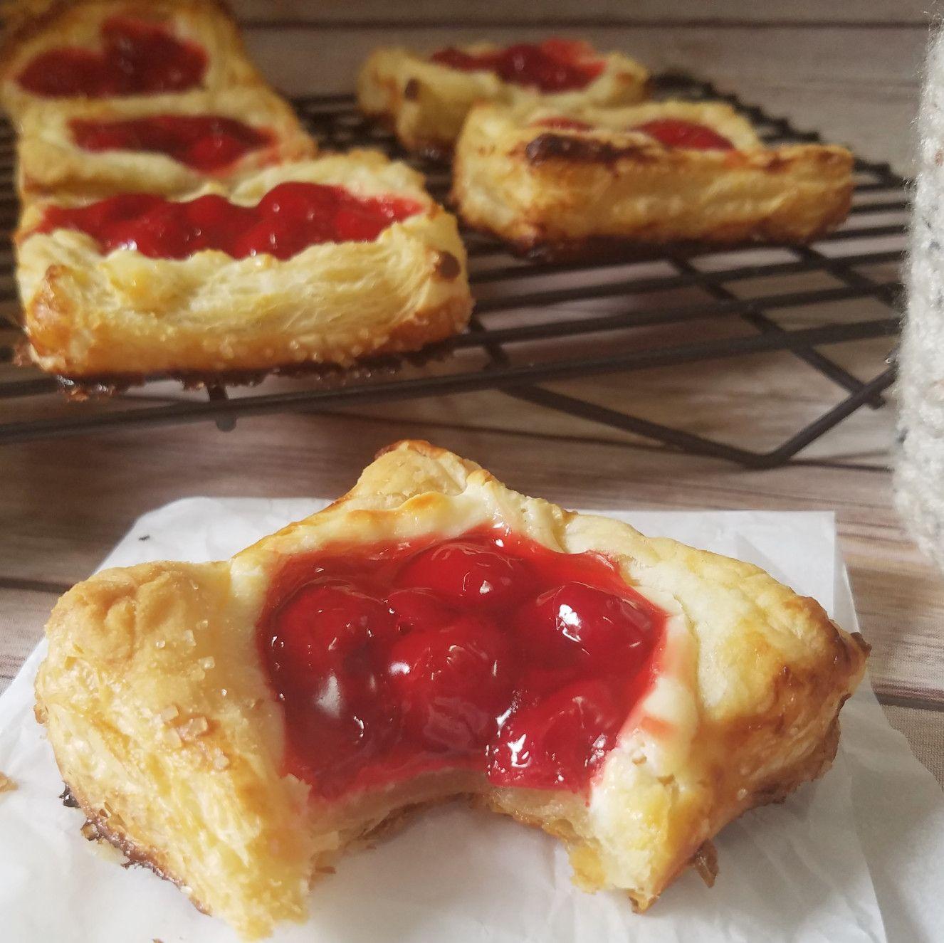 Easy Cherry Danish