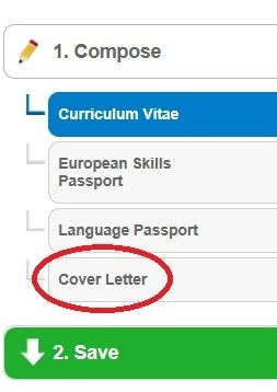How To Make A Good Cover Letter Let The Europass Cover Letter