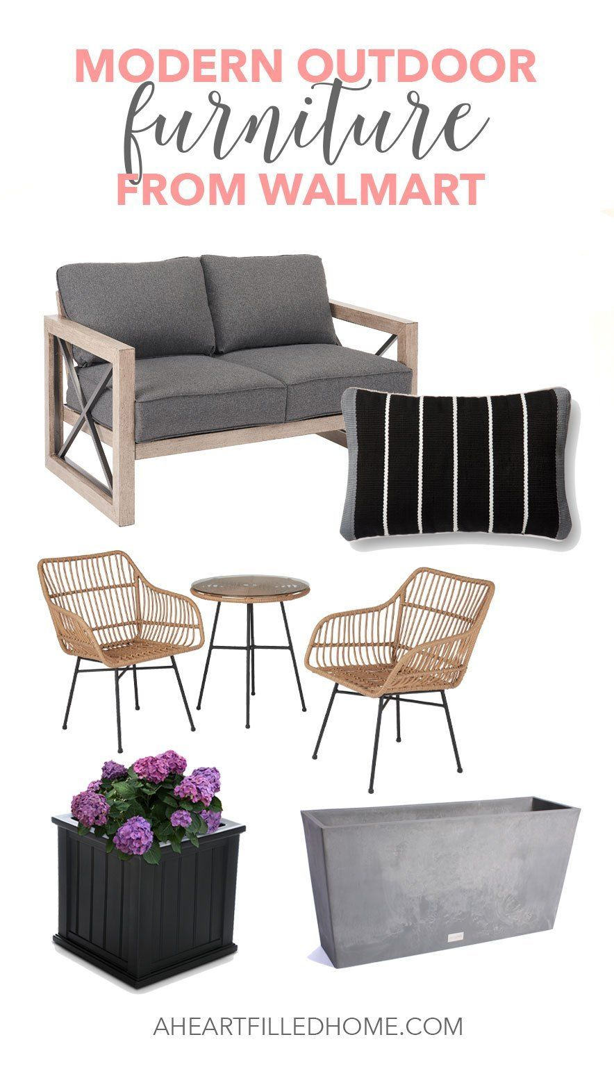 Modern Farmhouse Outdoor Furniture from Walmart