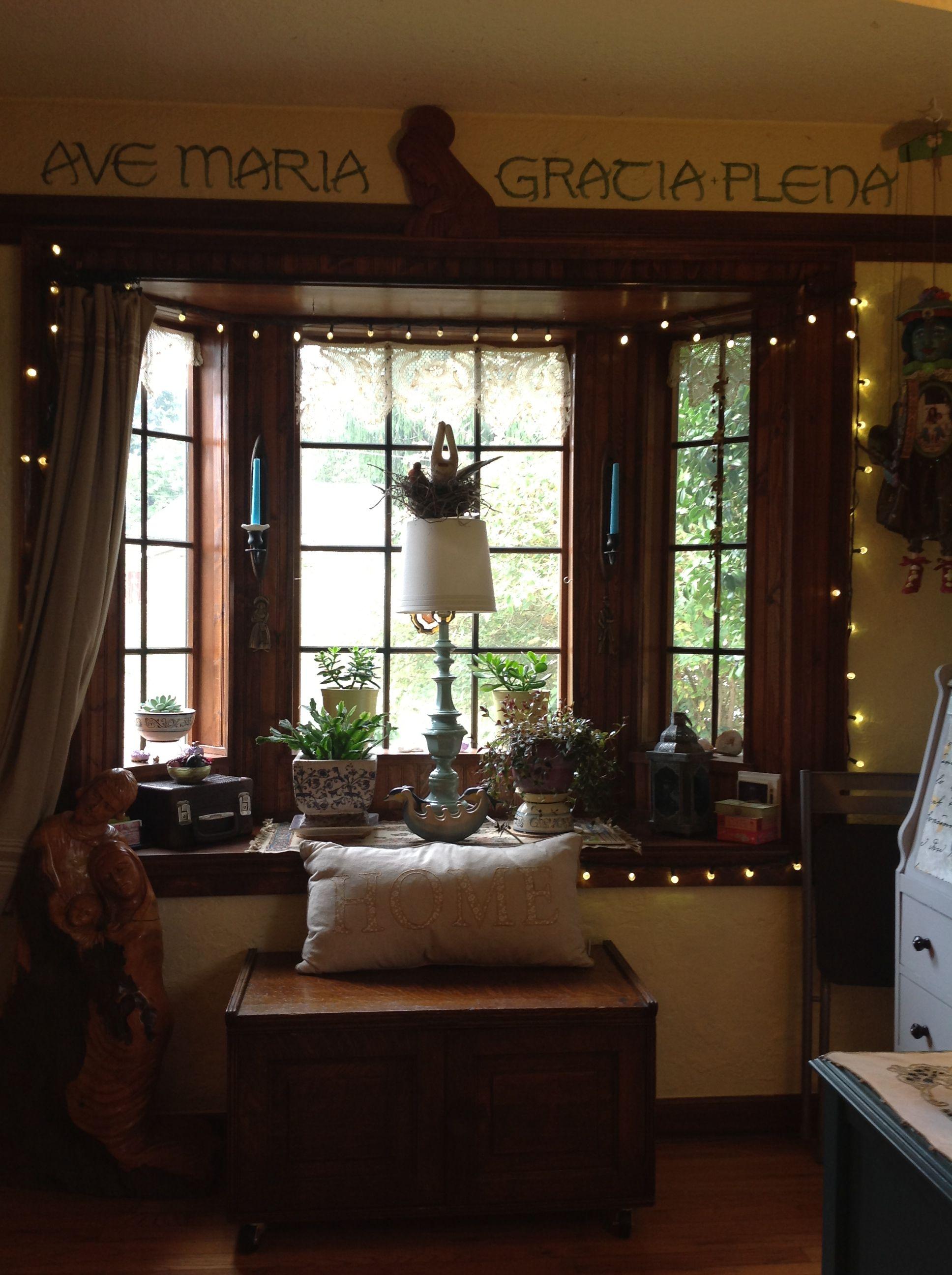 Gable end window ideas  my tiny house bay window  tiny house style  pinterest  tiny