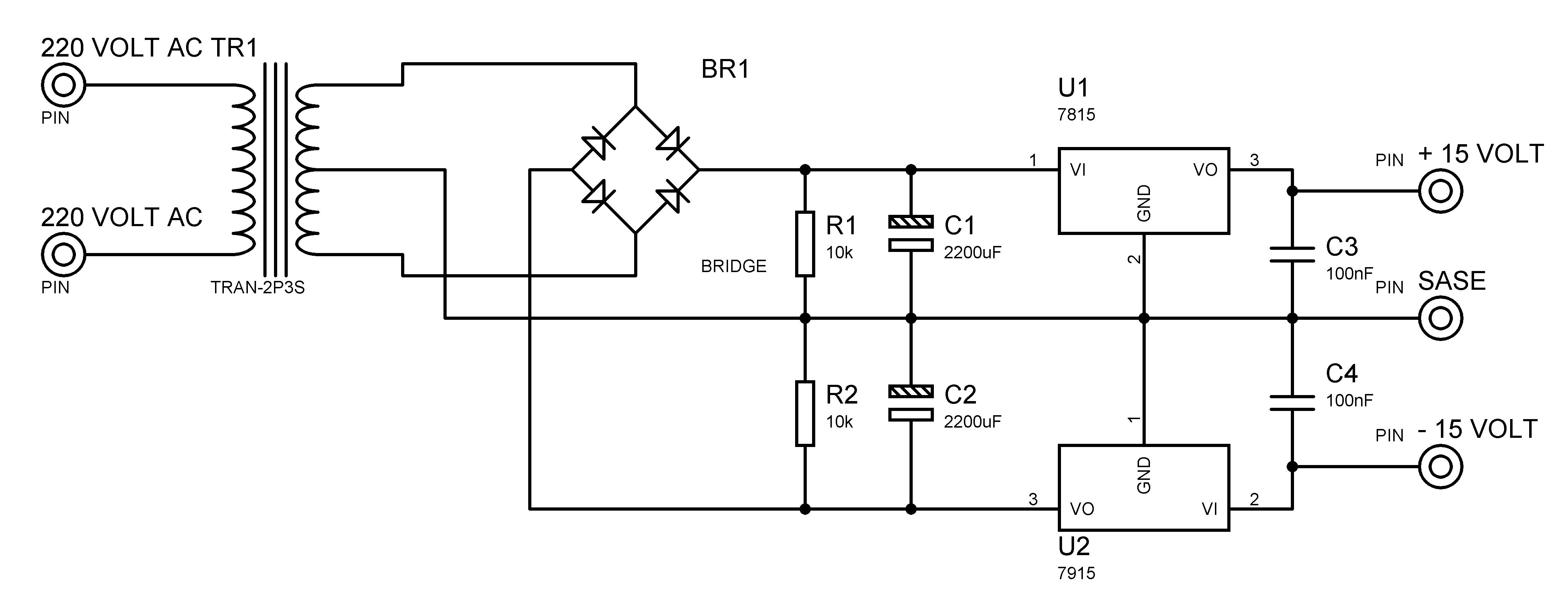 15 Volt Simetrik G Kayna Googleda Ara Electroncs Lm317 Overvoltage Protection