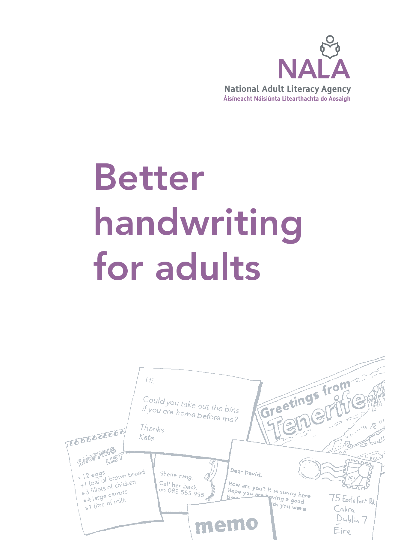 Penmanship Worksheets For Adults