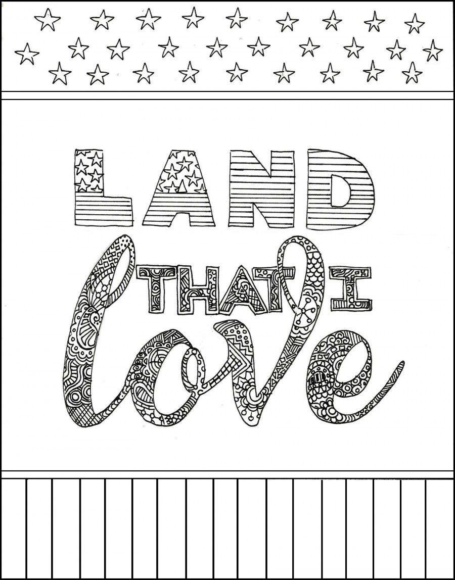 Free Patriotic Coloring Pages Printable Coloring Pages Flag