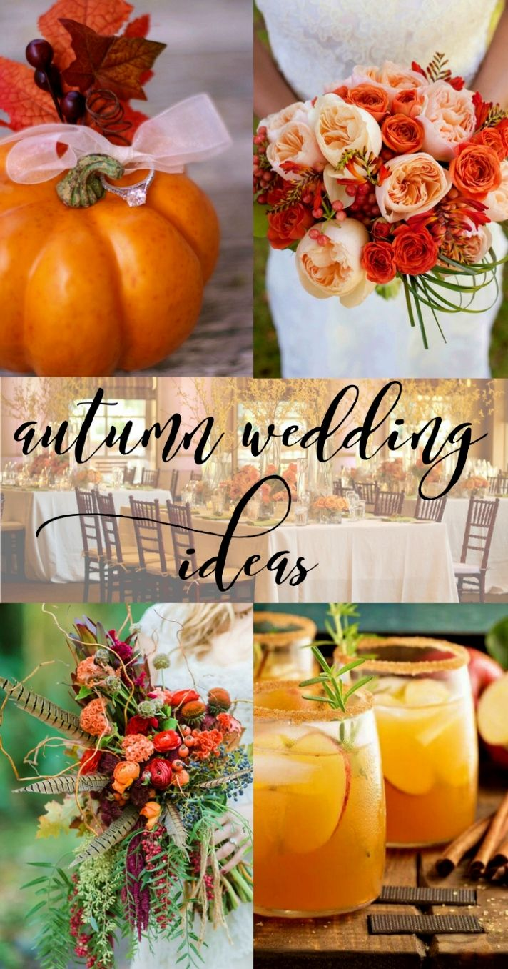 of the Amazingly Gorgeous Fall Church Wedding Ideas for the