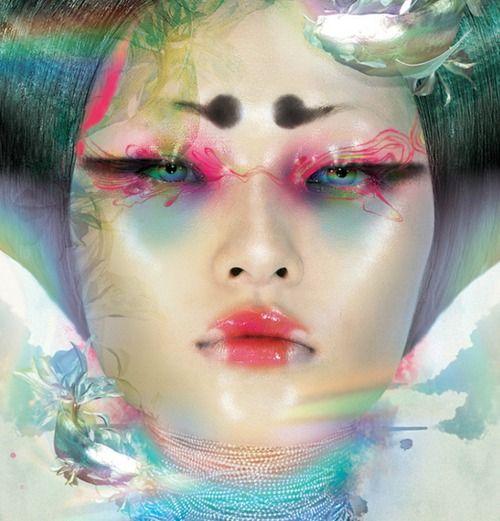 Goldfish Goblin Master Chen Man Man Photography Face Art Makeup