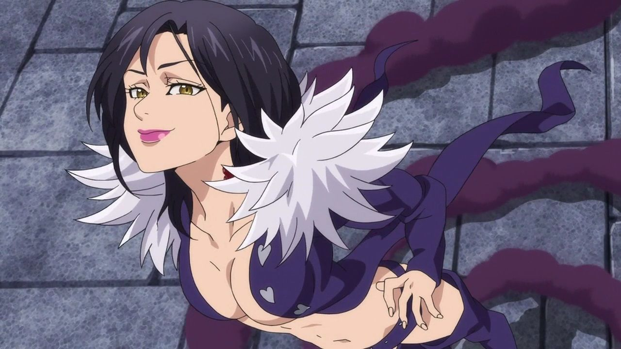 Merlin Anime wizard, Seven deadly sins, Seven deadly