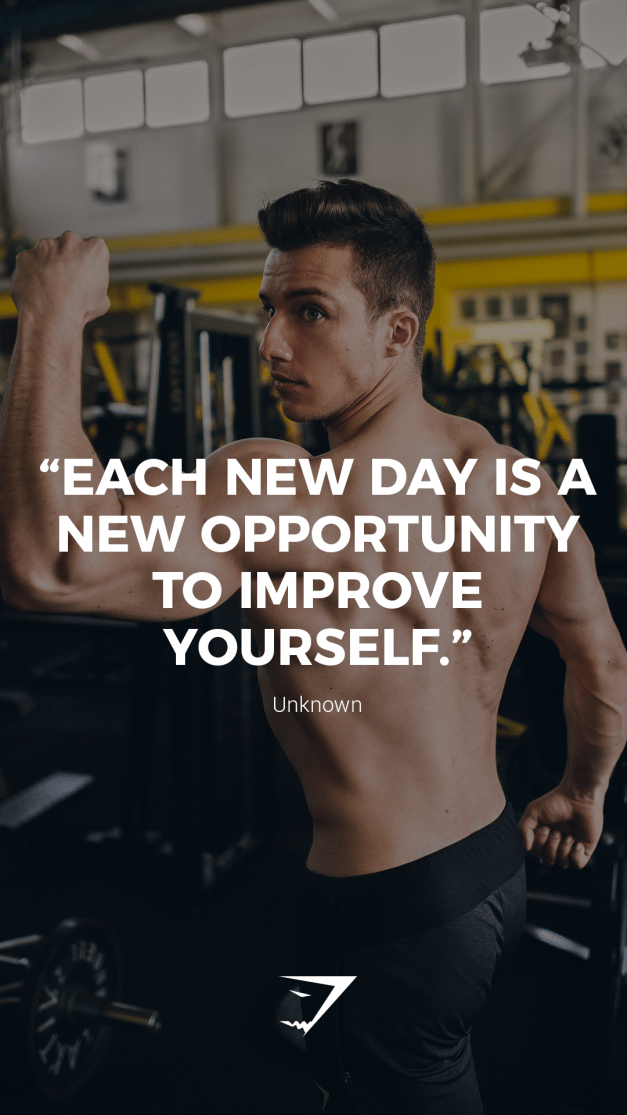 """""""Each new day is a new opportunity to improve yourself ..."""