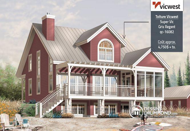 W3937 - Cottage de 3 chambres avec mezzanine, solarium et espace